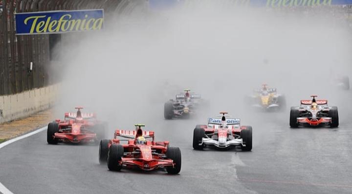 Interlagos 2008 Massa Hamilton