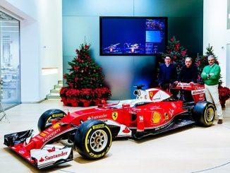 Natale piloti f1