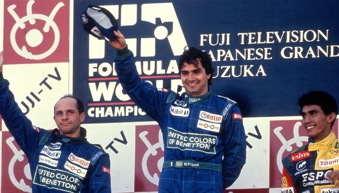 podio f1